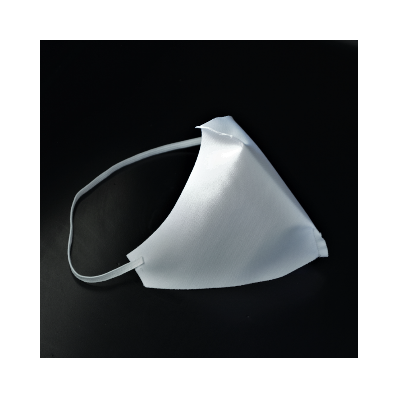 masque blanc reutilisable covid