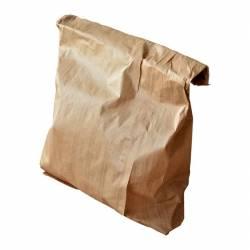 Sachet Kraft SOS papier recyclable transport repas fruit legumes