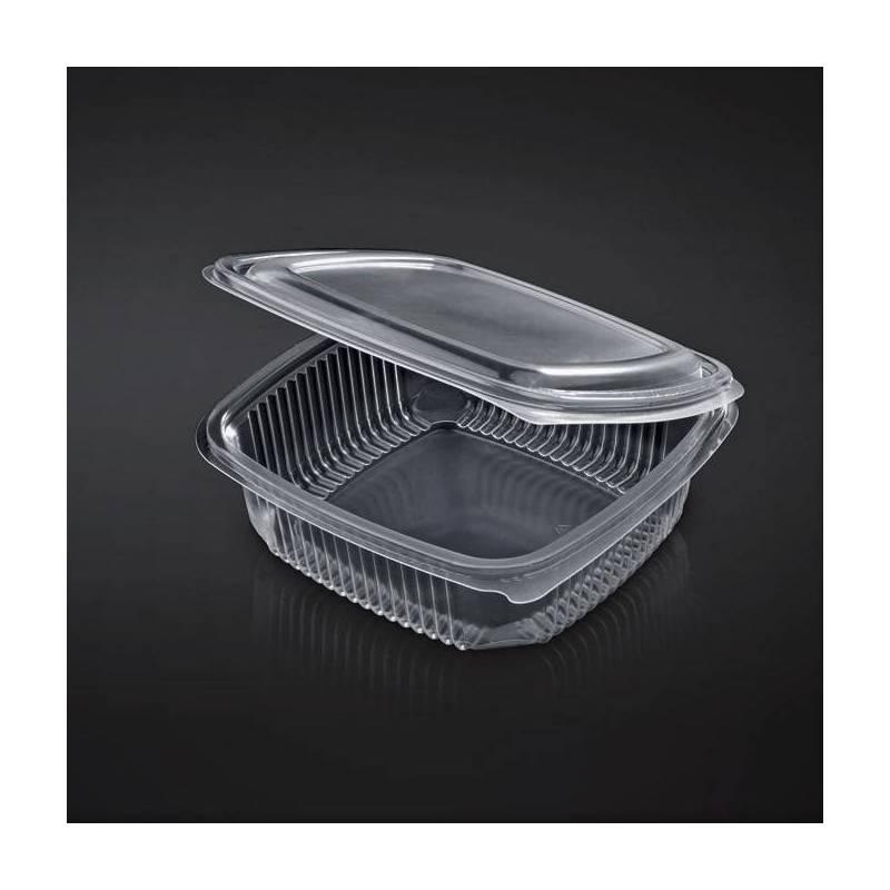 Barquette Refermable avec Charniere micro ondable 500