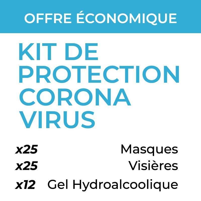 kit de protection coronavirus offre économique
