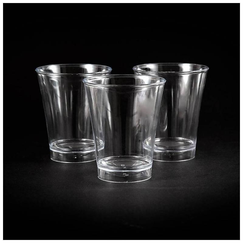 verre shot plastique jetable professionnel