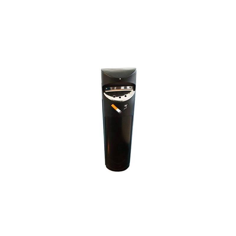 cendrier exterieur sur pied ou fixation murale durable acier et aluminium