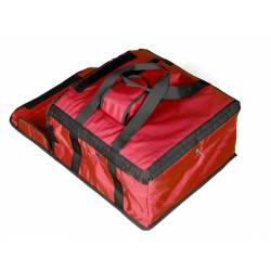 sac  isotherme transport boite a pizza pizza livraison de repas rouge