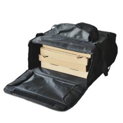 sac isotherme noir transport alimentaire pizza