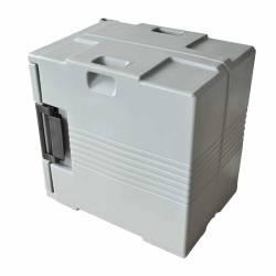 Conteneur Isotherme 88 L - Gris verrouillable