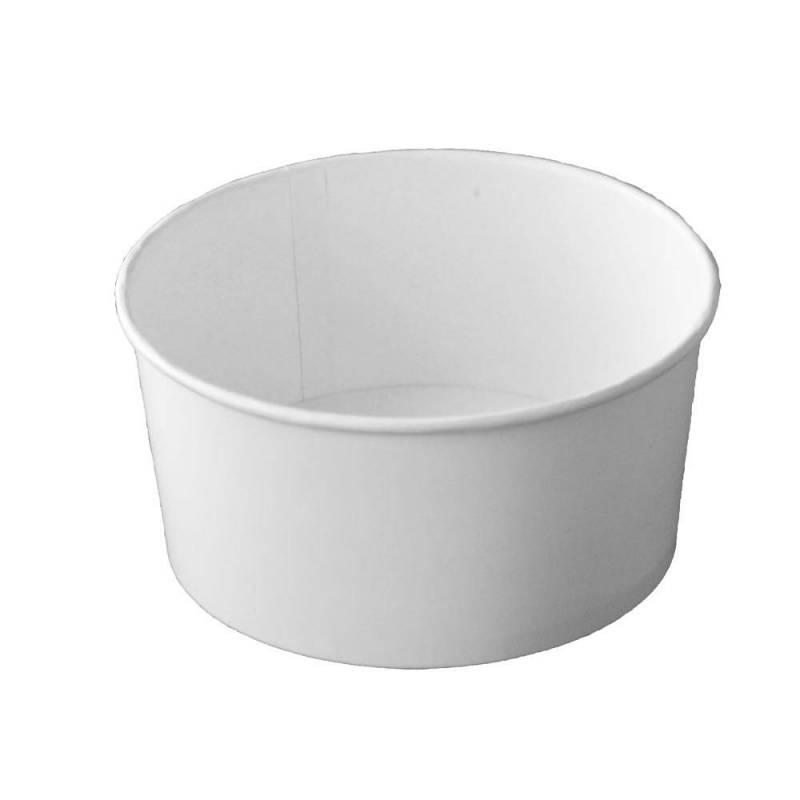 saladier moyen blanc en carton