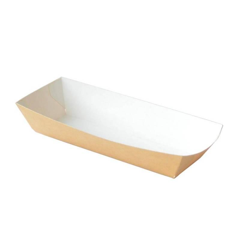 Barquette hot dog - carton kraft - 17.2 cm