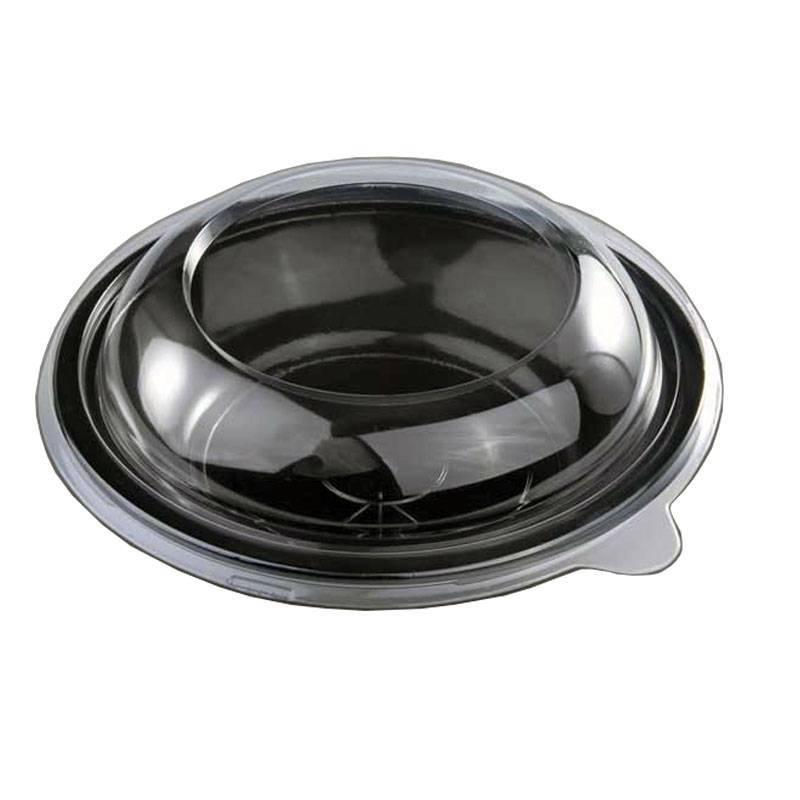 Assiette Traiteur Micro-Ondable avec Couvercle