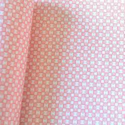 Papier Duplex Boucherie - papier ingraissable blanc avec motif