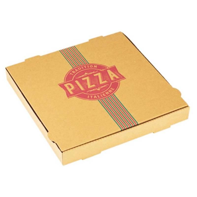 Boite Pizza Tradition carton alimentaire pour pizzeria