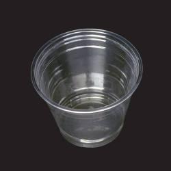 gobelet plastique transparent couvercle dome ou plat 250