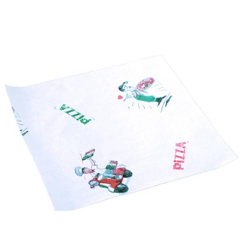 papier emballage pizza triplex