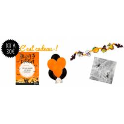 Kit Déco Halloween 4 produits