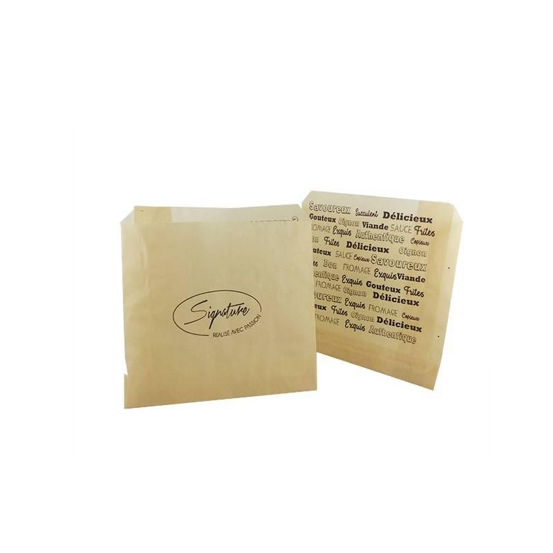 Sachet Papier Signature pour Frites - 16x16 cm cashshopping