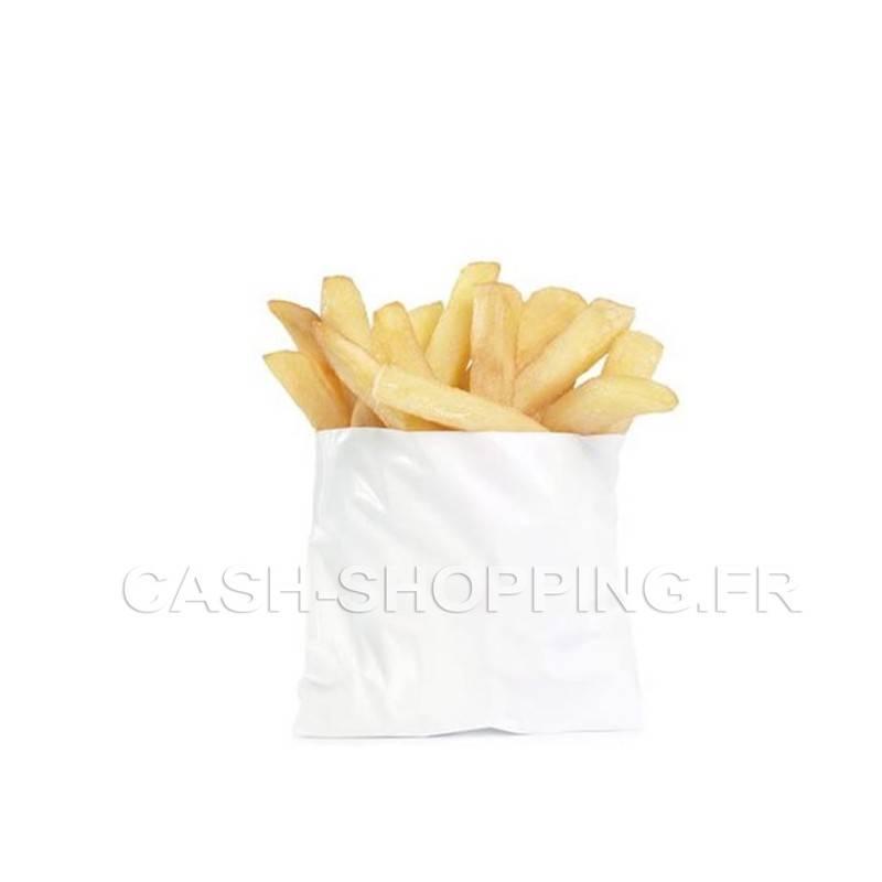 Sachet Frites en Papier - 12x10 ou 16x16 cm