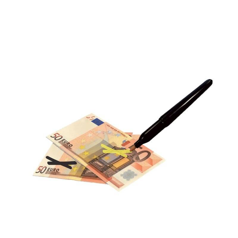 stylo détecteur de faux billets restaurant marqueur fausse monnaie