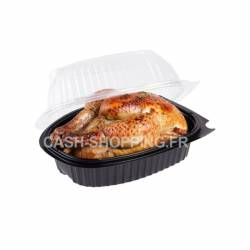 Coque poulet roti micro-ondable