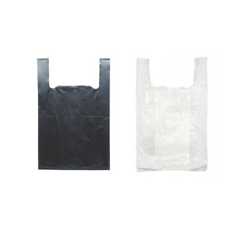 Sacs Biodegradables avec Bretelles - Noir ou Blanc