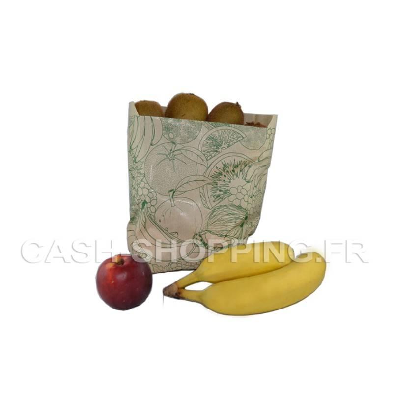 Sac kraft Green Fruits et légumes