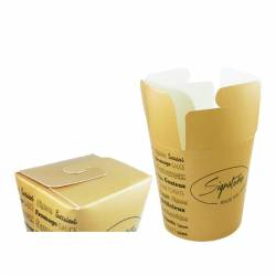 Pot A Pates Collection Signature 500 & 750 mL carton recycable materiel restauration