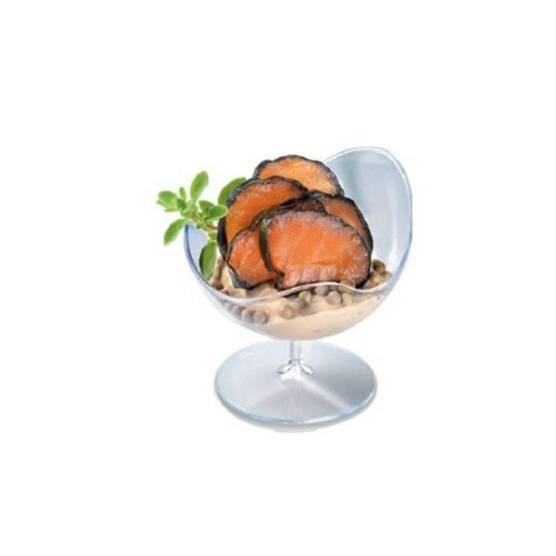 verrine plastique coupelle coupe transparent cristal apéritif traiteur restaurant